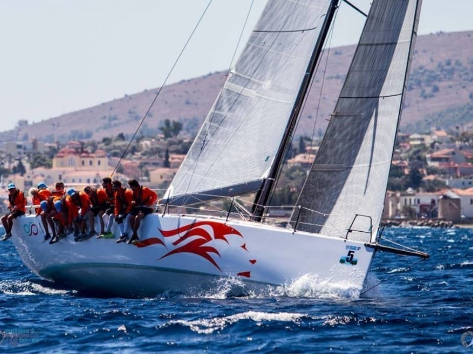 Pogo50 in relaxed sailing