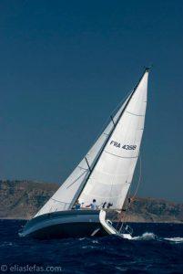 Pogo10.50 fastsailing upwind