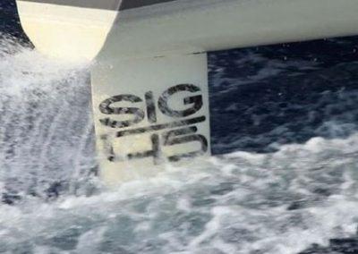SIG45 rudder<br/>