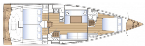 Solaris 47 interior plan