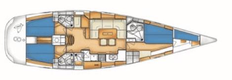 X-50 interior plan