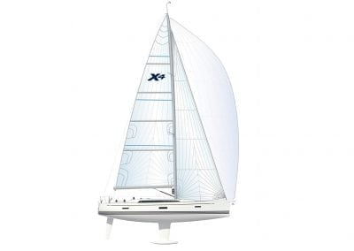 X4 Specifications and Sailplan