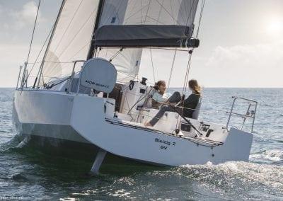 Pogo30 Sailing comfortably