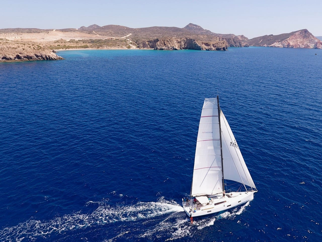Pogo50 Fastsailing Greece Drone1