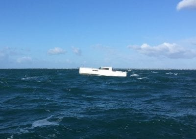 Loxo32 at rough seas