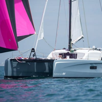 Outremer 4X Brand New in our Fleet! Upcoming boat shows, 2019 Train & Race Programme