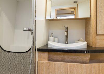 Solaris 50 Aged Oak Bathroom