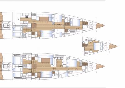 SOLARIS 68RS interior plan
