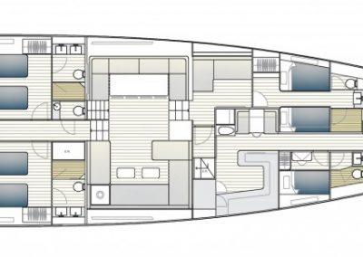 Solaris 111 SY Interior Layout