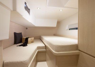 Solaris 50 Bleached Oak Aft Cabin