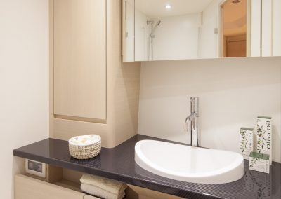 Solaris 50 Bleached Oak Bathroom