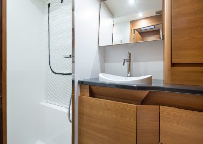Solaris 55 Aft Toilet