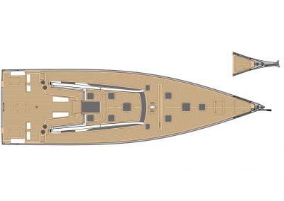 Solaris 60 Deck Layout