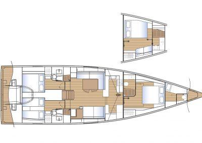 Solaris 60 Interior Layout