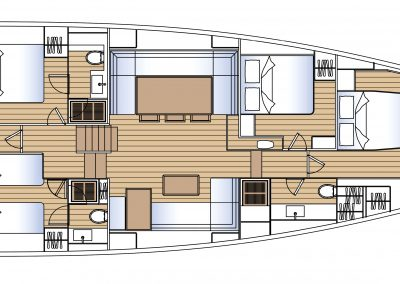 Solaris 80 Interior layout 1