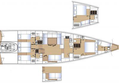Solaris64RS Interior layout