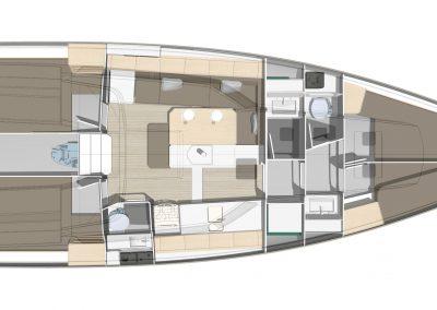 Pogo44 interior plan