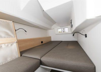 Pogo44 aft startboard cabin